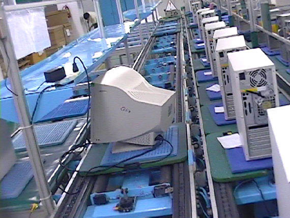 Electronic Industry Conveying Systems Testing Assembling