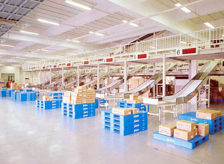 Logistics Conveying Systems Courier Postal Mailing