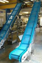 Cleated Incline Belt Conveyors