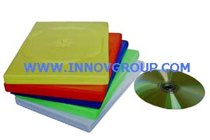 14mm color dvd case red blue green yellow white colors