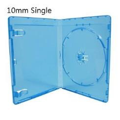 10mm Single Clear Blu-ray DVD Cases