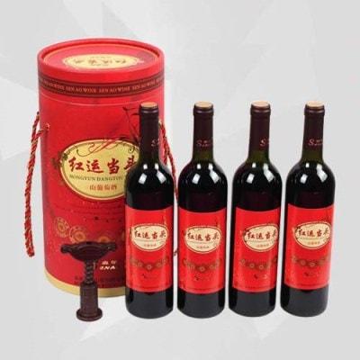 4-bottle Wine Gift Box