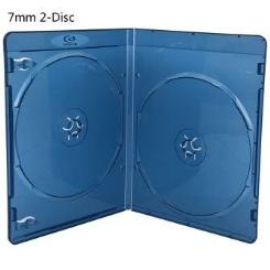7mm Double Clear Blu-ray Cases