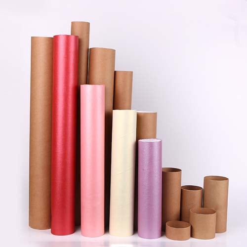 Medium-sized Color Paper Tubes