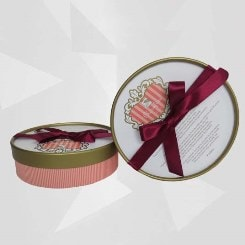 Small Round Chocolate Gift Boxes