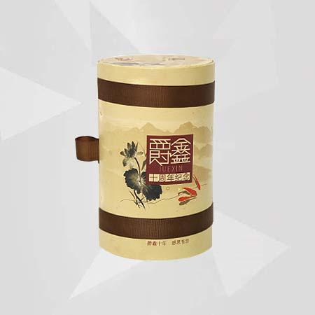 Custom Round Paper Tea Box