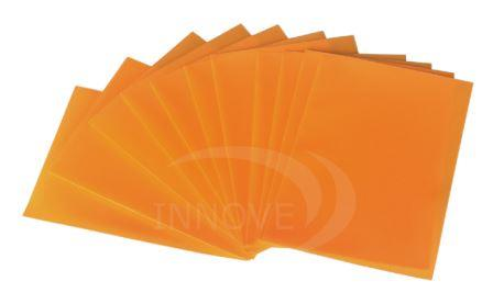 Plastic Card Sleeve Protectors for MTG - Orange