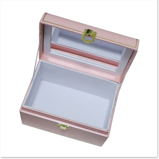 Fliptop Candy Gift Box with Cosmetic Mirror