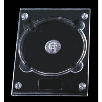 Clear DVD Digitray for 1 Disc