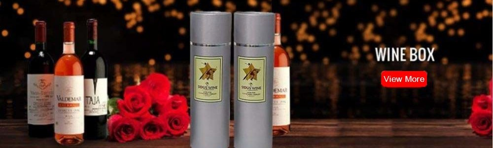 Cardboard Wine Gift Boxes